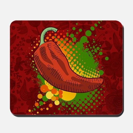 Chili Season-pillow Mousepad