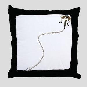 Save Gas, Move your Ass Throw Pillow