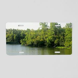 lake1 Aluminum License Plate