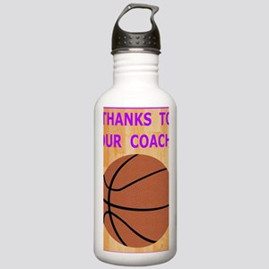 Thank You Greeting Car Stainless Water Bottle 1.0L