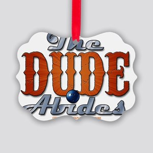thedudeabides Picture Ornament