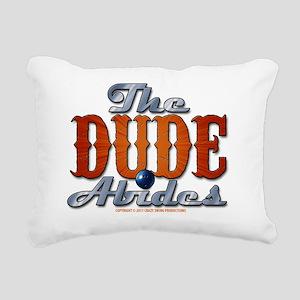 thedudeabides Rectangular Canvas Pillow