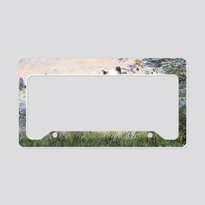 LIC-Seine-GreatPyrenees License Plate Holder