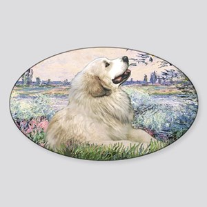 LIC-Seine-GreatPyrenees Sticker (Oval)
