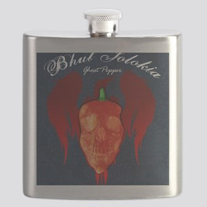 Ghost-poster Flask