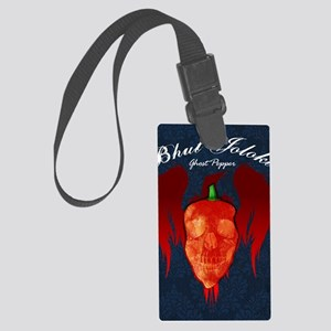 Ghost-poster Large Luggage Tag