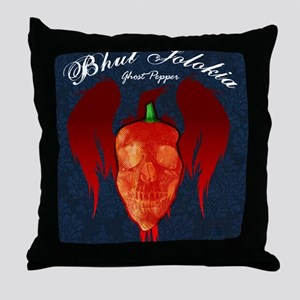Ghost-poster Throw Pillow