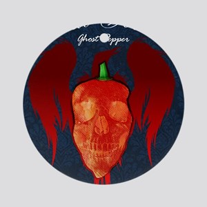 Ghost-poster Round Ornament