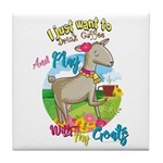 GOAT | Just Want to Drink Coffee Play With Goats T