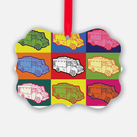 16_FoodTruck_PopArt_Top Ornament