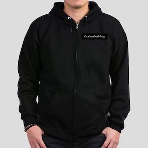 Boerboelthingblack Zip Hoodie