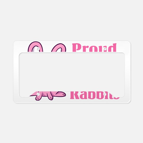 CA_036_v01_proudmomrabbit License Plate Holder