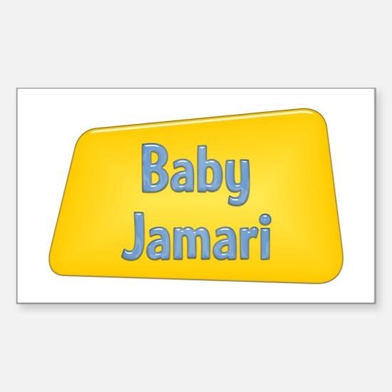 Baby Jamari Rectangle Decal