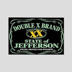 XX Brand Rectangle Magnet