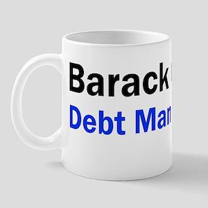 Anti Obama Debt man walkingdbumpl Mug