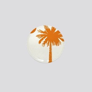 SC Palmetto  Crescent (2) orange Mini Button