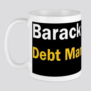 Anti Obama Debt man walkingdbumpbutt Mug