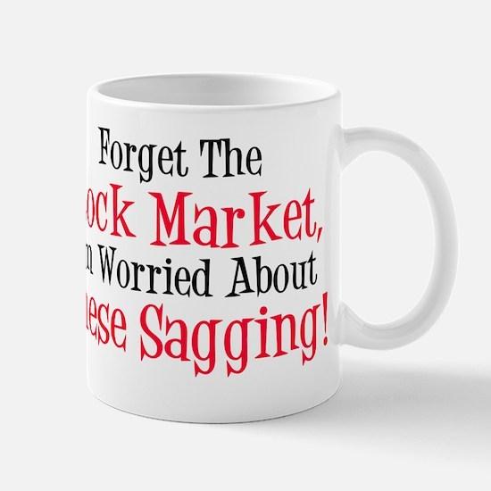 Stock Market Sagging Mug