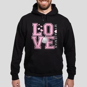 lovemyairman Hoodie (dark)