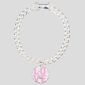 lovemyveteran Charm Bracelet, One Charm