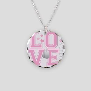 lovemyveteran Necklace Circle Charm