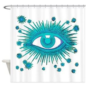Psychic Shower Curtains