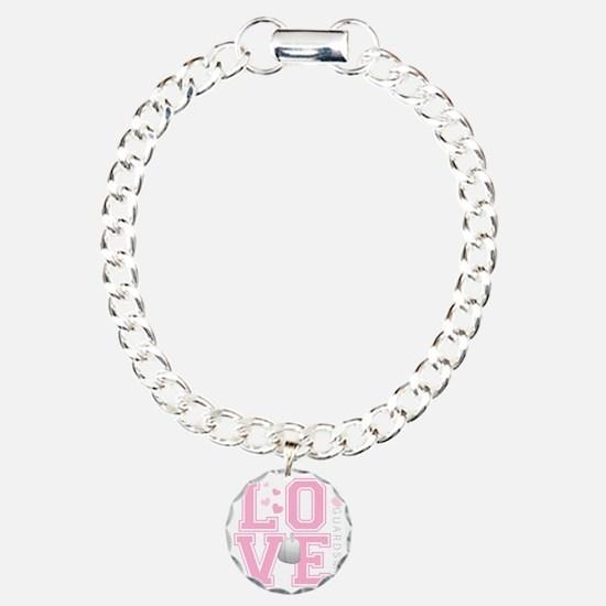 lovemyguardsman Charm Bracelet, One Charm