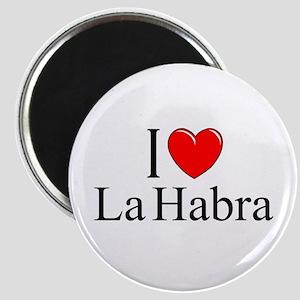 """I Love La Habra"" Magnet"