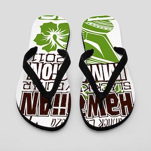 Hawaiian Slack Key Immersion 2011 Flip Flops