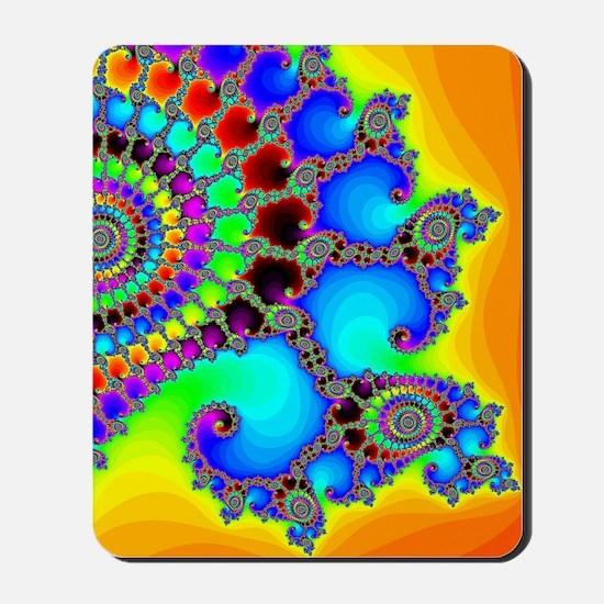 Colorful Coastline Mousepad