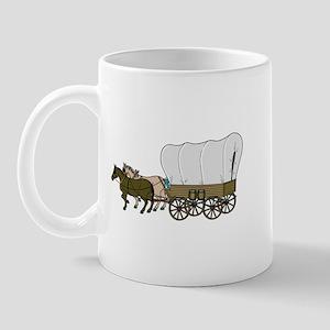 Covered Wagon Mug