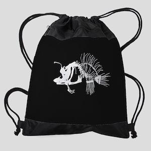 Angler Fish Drawstring Bag