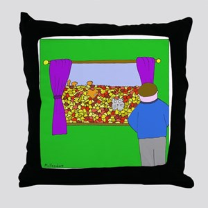 Time to Rake the Leaves - no text Throw Pillow