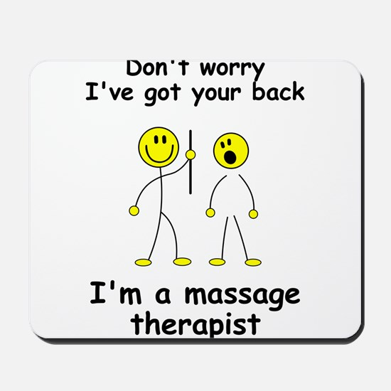 MUST HAVE for massage therapist Mousepad