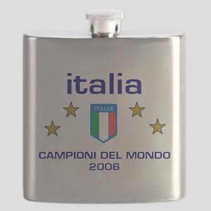italia 2006 Campioni del Mondo Flask