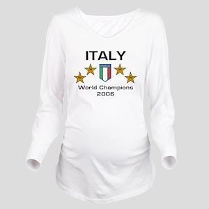 italy Long Sleeve Maternity T-Shirt
