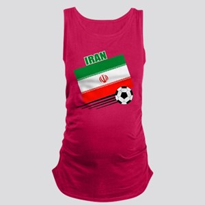 Iran soccer  ball lt Maternity Tank Top