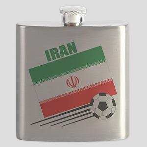 Iran soccer  ball lt Flask