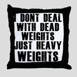 dead-weights Throw Pillow