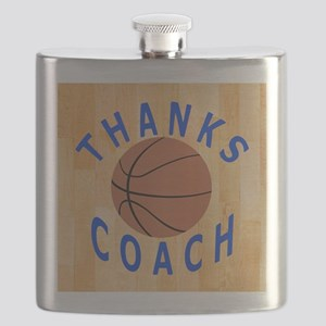 Thanks Basketball Coach Unique Gifts Flask