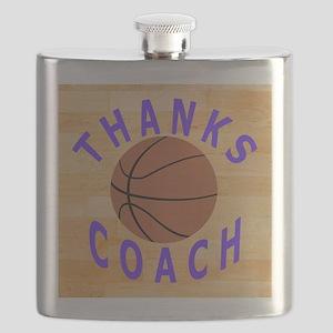 Thanks Basketball Coach Gift Mousepad Flask
