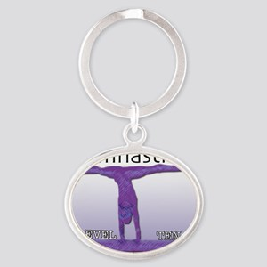 levels201110 Oval Keychain