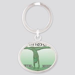 levels20118 Oval Keychain