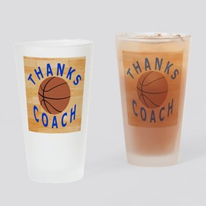 Thanks Basketball Coach Gift Mousep Drinking Glass