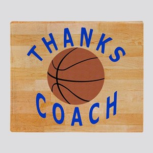 Thanks Basketball Coach Gift Mousepa Throw Blanket