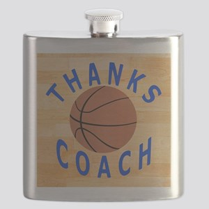 Thanks Basketball Coach Gift Mousepad Flask