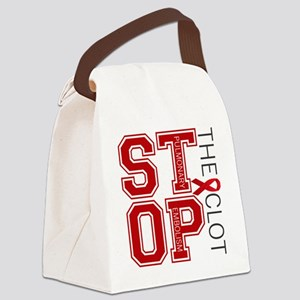 stoptheclot Canvas Lunch Bag