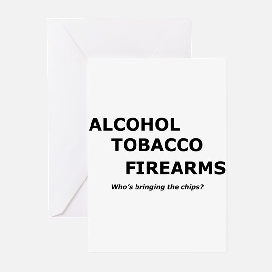 ATF and chips Greeting Cards (Pk of 10)