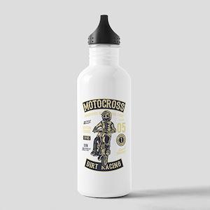 Motorcross dirt bike r Stainless Water Bottle 1.0L