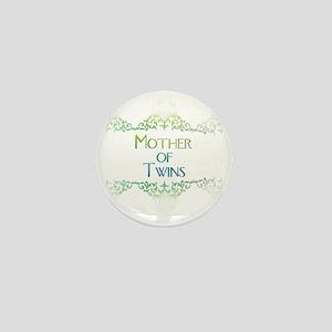 motheroftwinsdecorated Mini Button